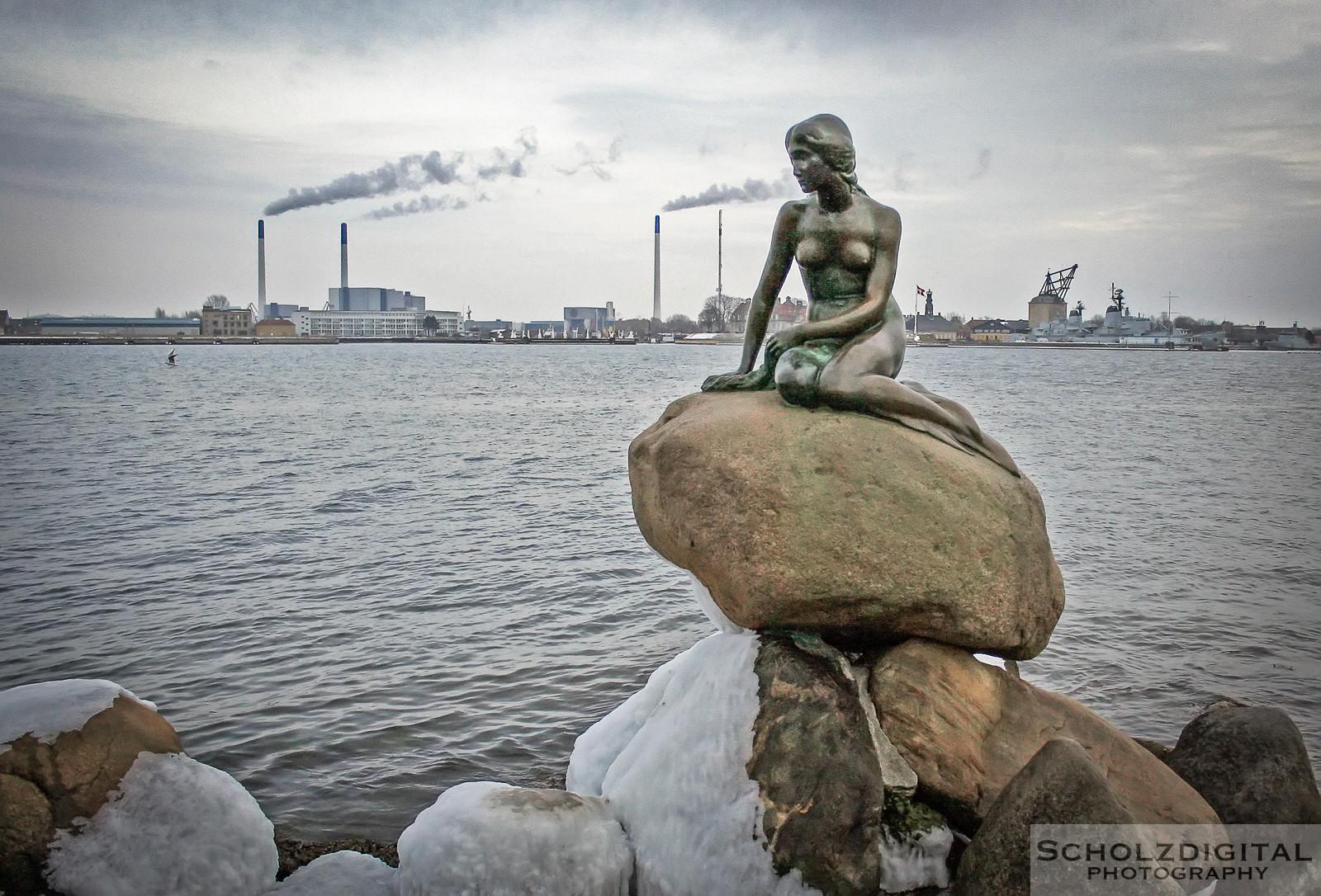 Kopenhagen, Meerjungfrau, Dänemark, Fotografie, Städtereisen, Sightseeing, Scholzdigital