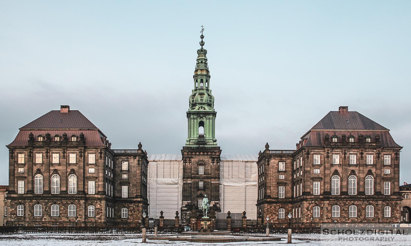 Schloss Christiansborg, Kopenhagen, Dänemark, Fotografie, Städtereisen, Sightseeing, Scholzdigital