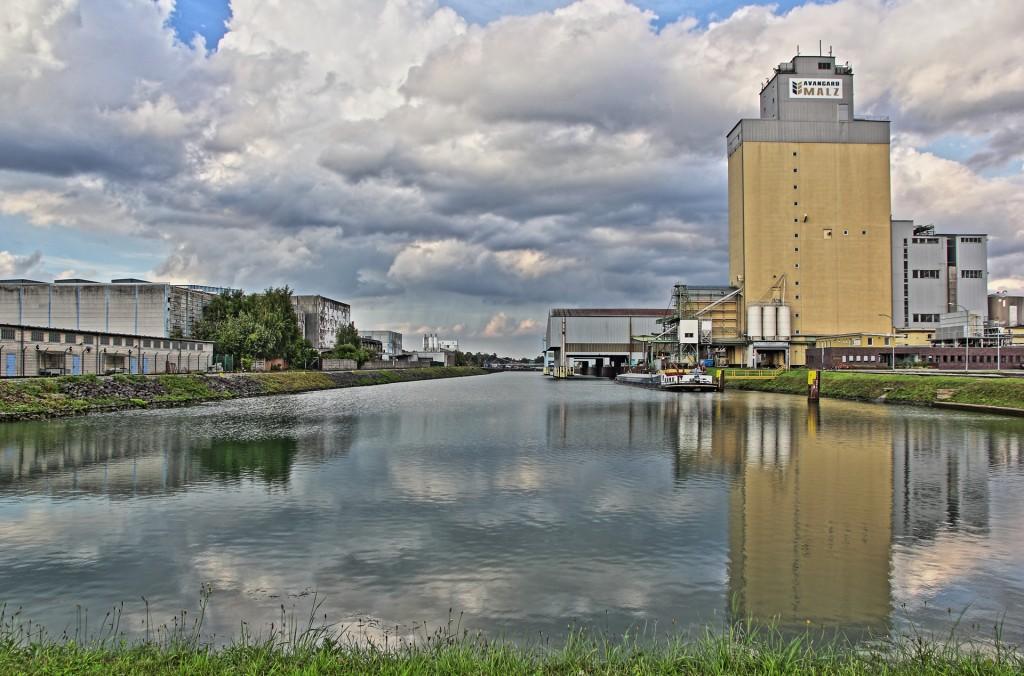 HDR Aufnahme Hafen Gelsenkirchen