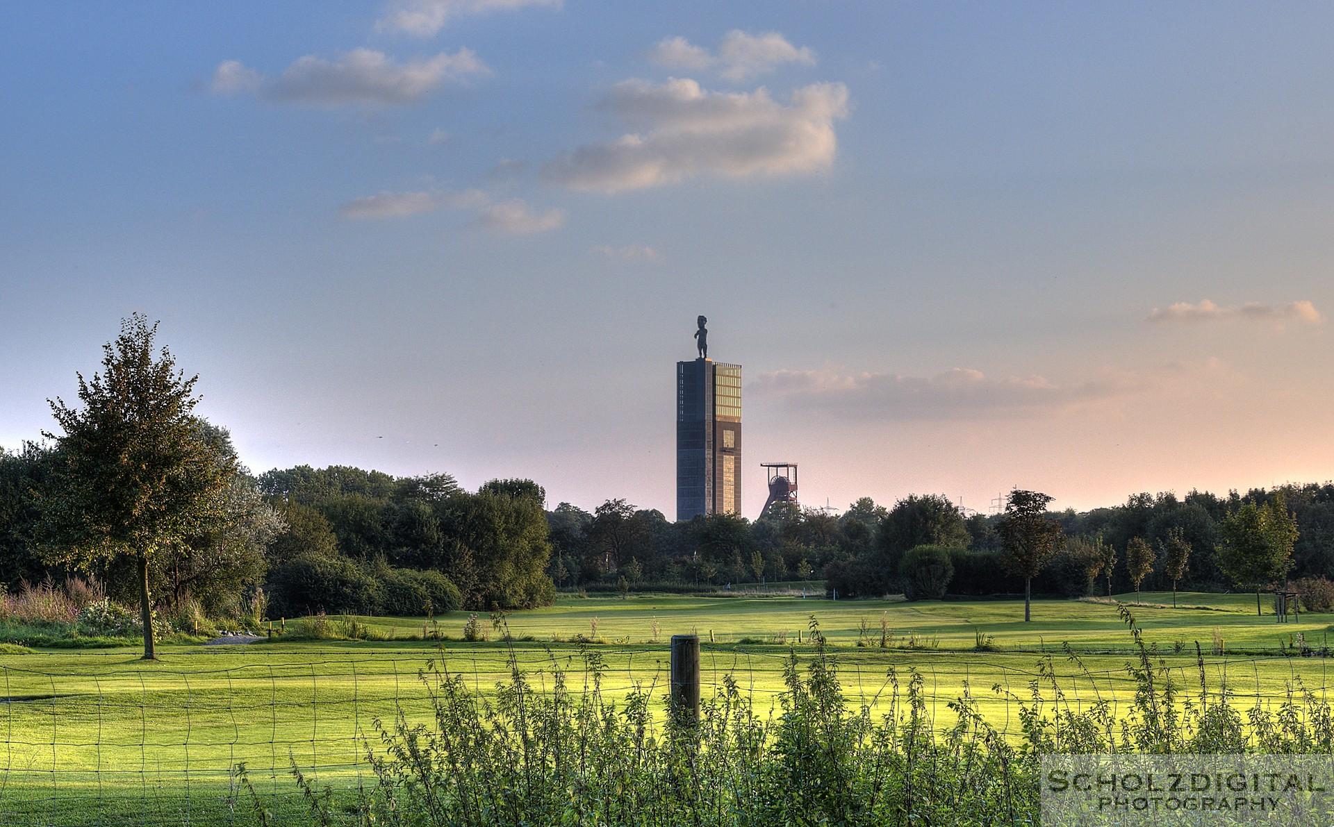 HDR Aufnahme - Nordstern mit Herkules in Gelsenkirchen