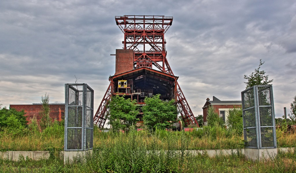 Gelsenkirchen Bismarck Förderturm Consol