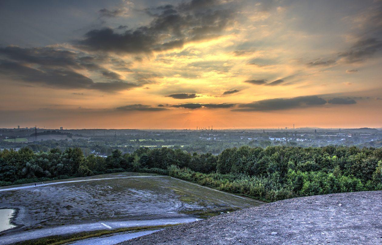HDR Aufnahme von der Himmelstreppe in Gelsenkirchen