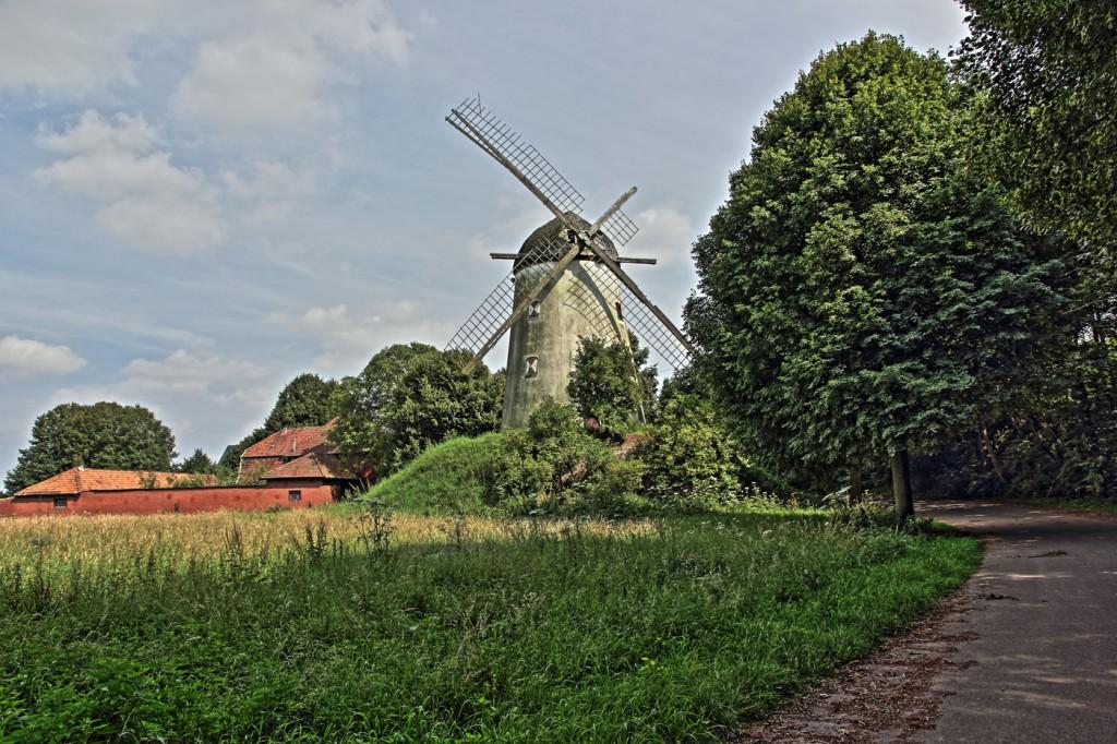 Verlassene Windmühle