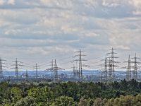 HDR Bild / Aufnahme Blick vom Landschaftspark Hoheward auf Gelsenkirchen