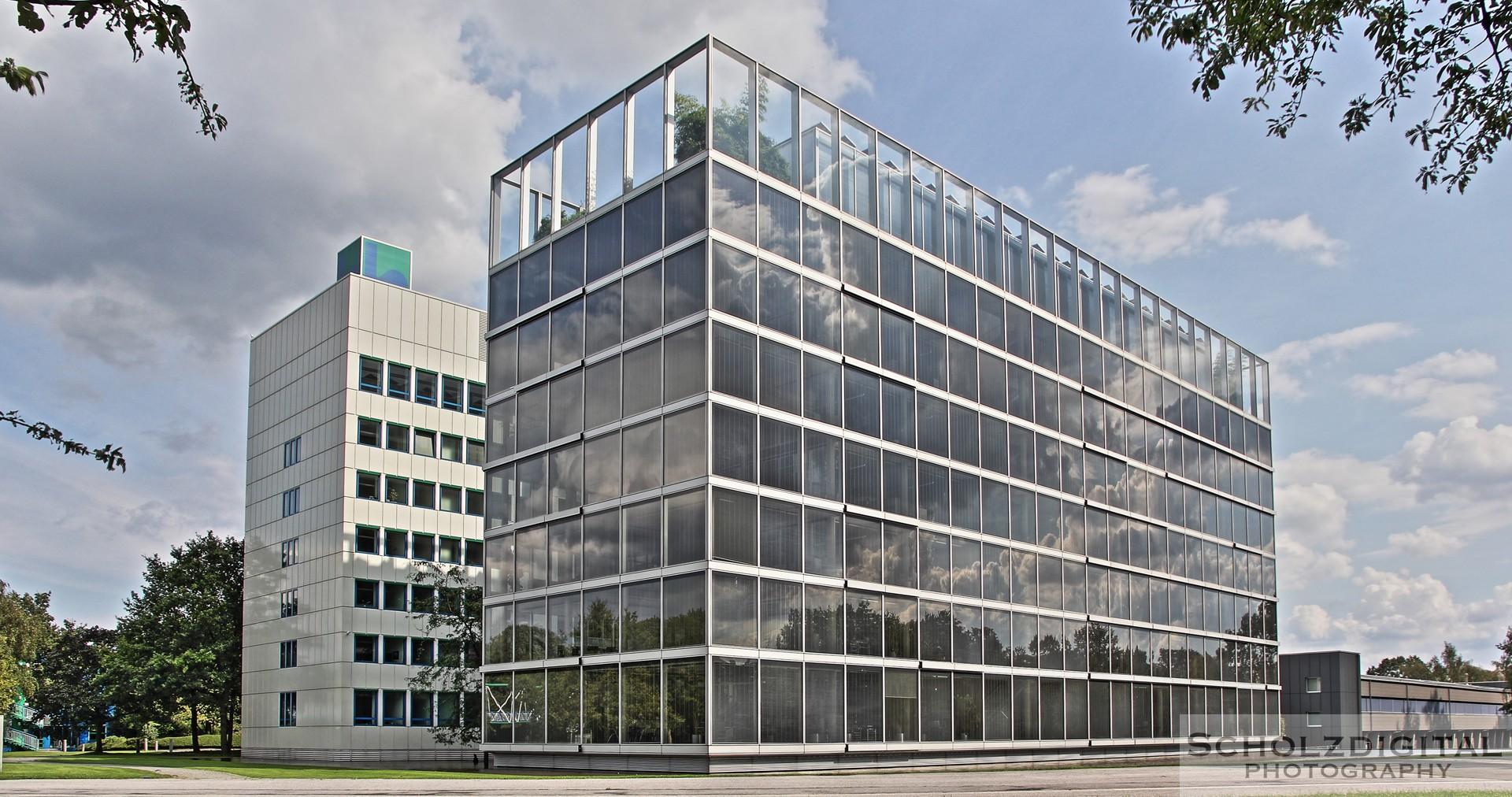 VHDR Bild / Aufnahme Verwaltungsgebäude der Gelsenwasser Gelsenkirchen - HDR Aufnahme