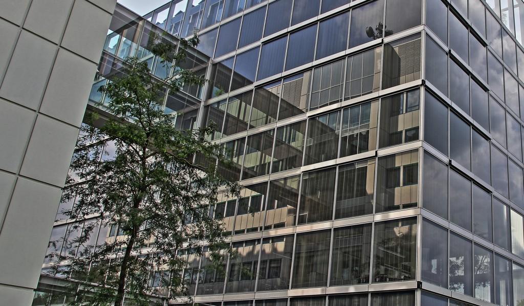 Glasfront Gelsenwasser