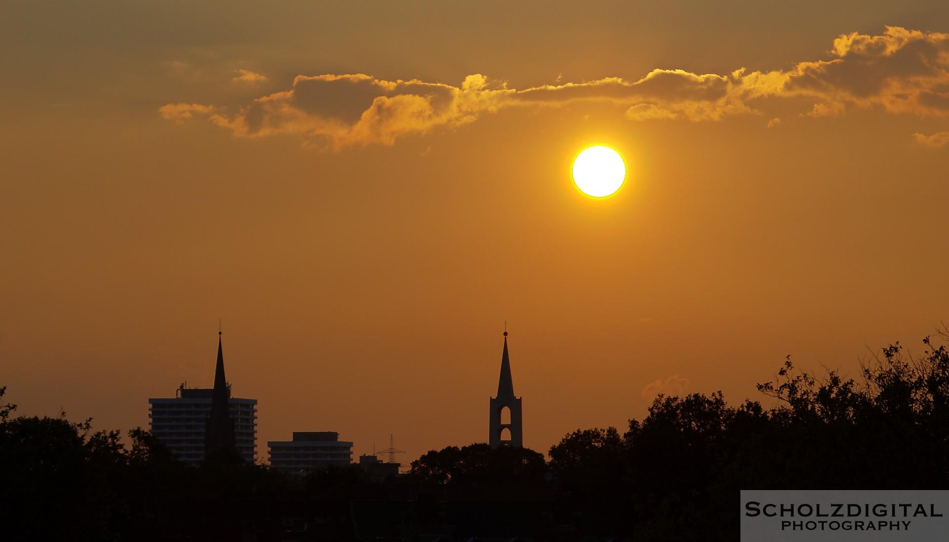 Blick vom Schalker Verein Richtung Gelsenkirchen City