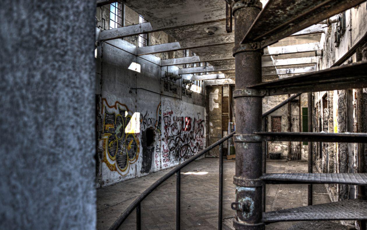 Verlassenes Industriegebäude im Ruhrgebiet
