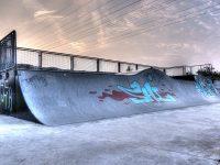 HDR Aufnahme einer Skateranlage