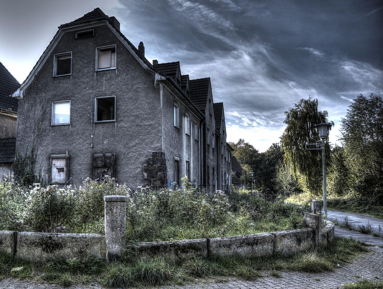 Verlassene Siedlung im Ruhrgebiet