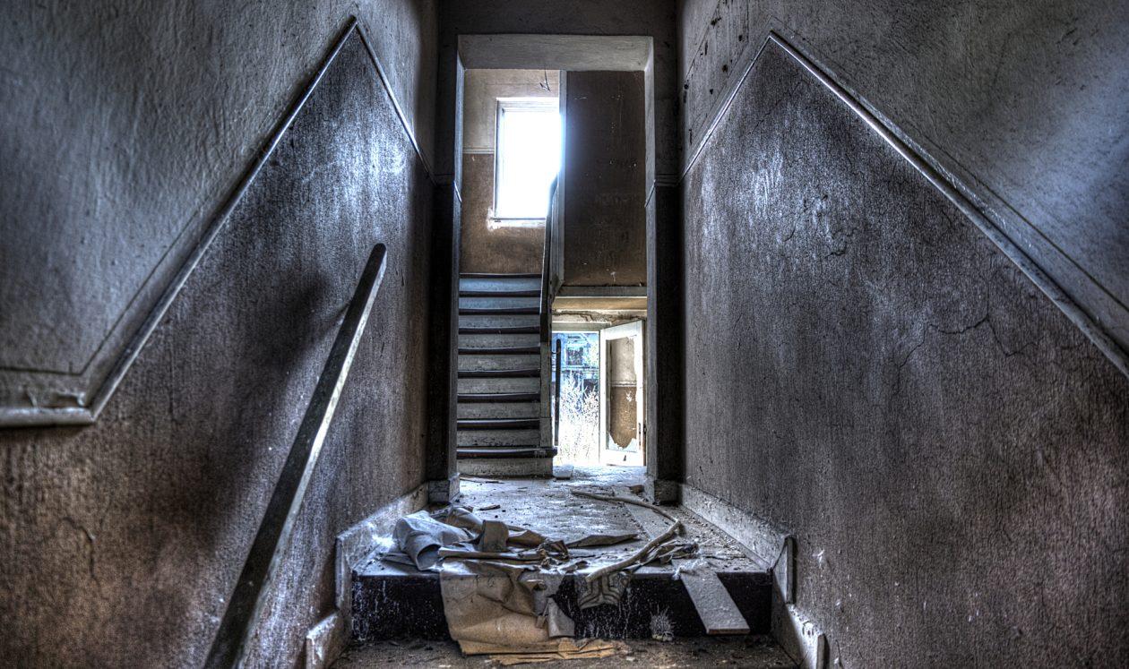 Verlassenes Wohnhaus im Ruhrgebiet