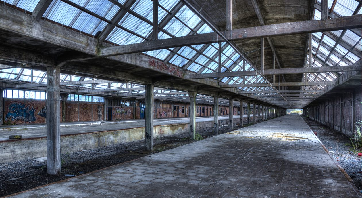 Bahnhof - Montzen Gare
