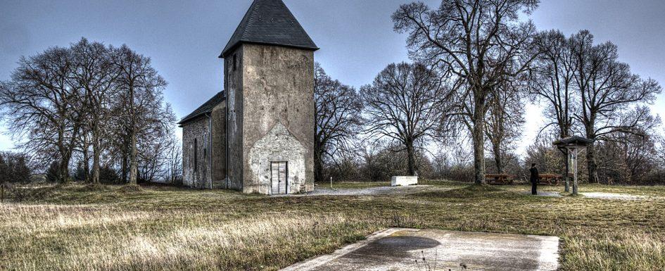 HDR Aufnahme Kirche St. Rochus / Wollseifen / Eifel