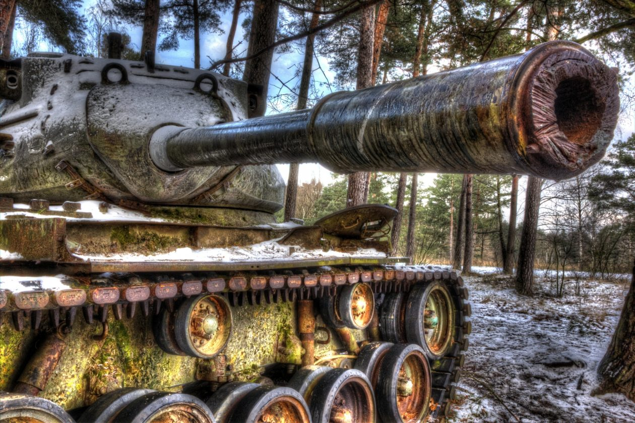M47 Patton Medium Tank – 90 mm Gun urbex - verlassene Orte