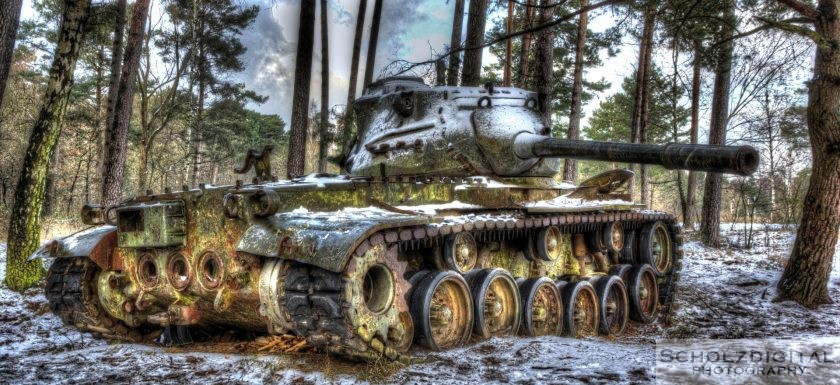 M47 Medium Tank – 90 mm Gun