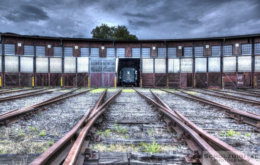 HDR Ruhrgebiet Bahnbetriebswerk
