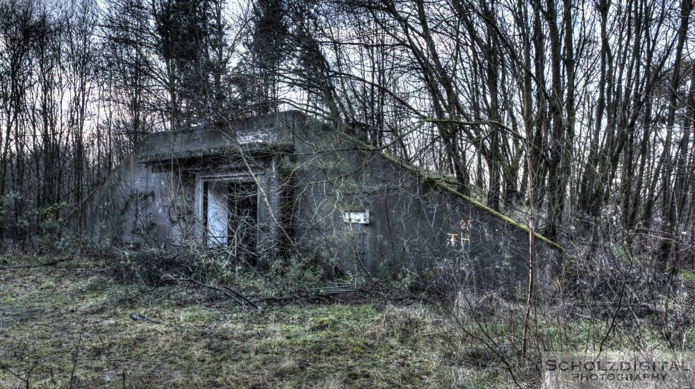 Verlassener Bunker im Munitionsdepot Hünxe urbex - verlassene Orte