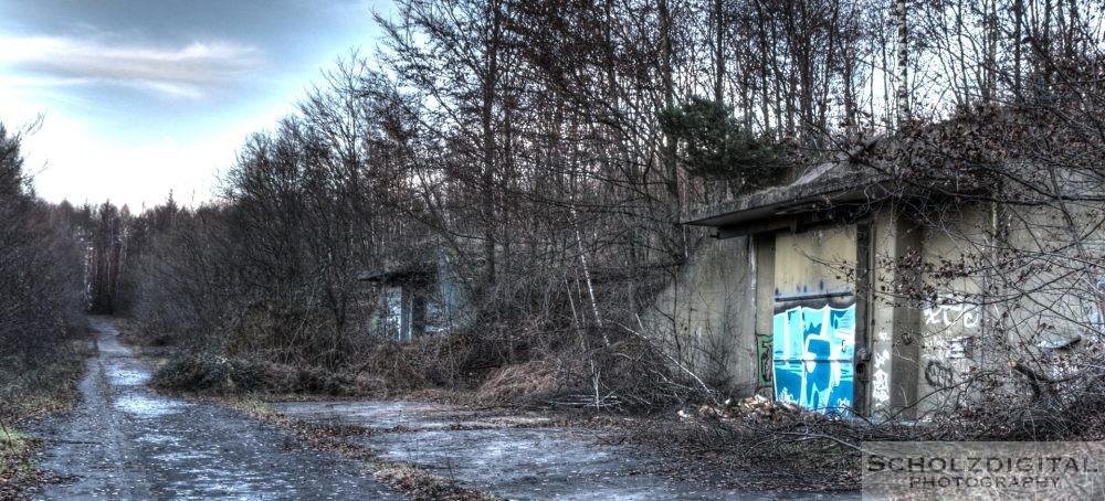 Verlassener Bunker im Munitionsdepot Hünxe urbex - verlassene Orte - Lost Place