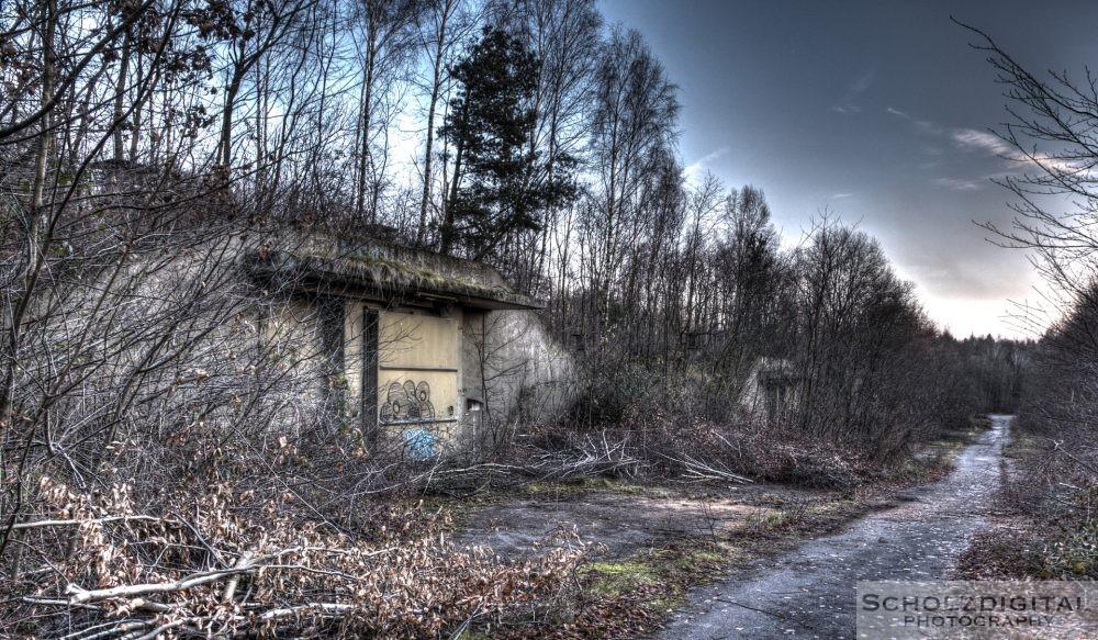 Verlassener Bunker im Munitionsdepot Hünxe Munitionsbunker urbex - verlassene Orte