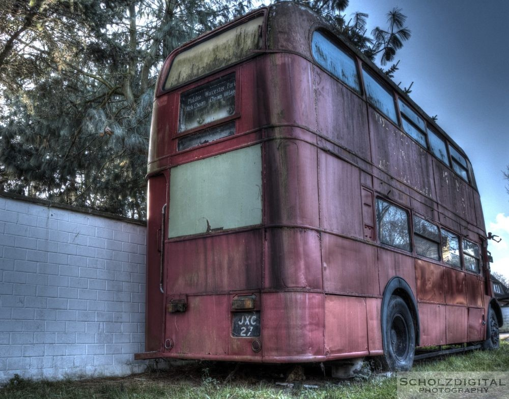 Lost Place verlassener Bus