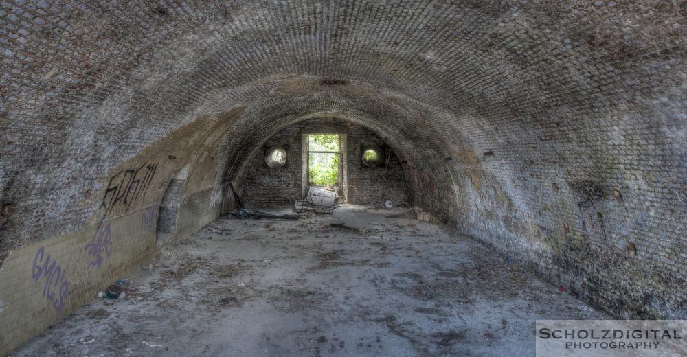 Verlassene Orte - Kaserne in Belgien