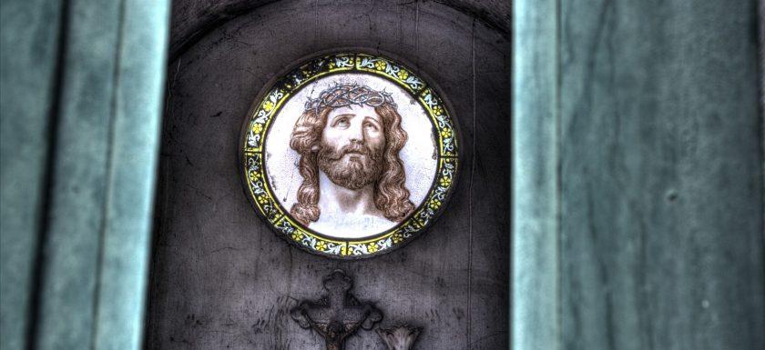 Alter Friedhof - Jesusbild