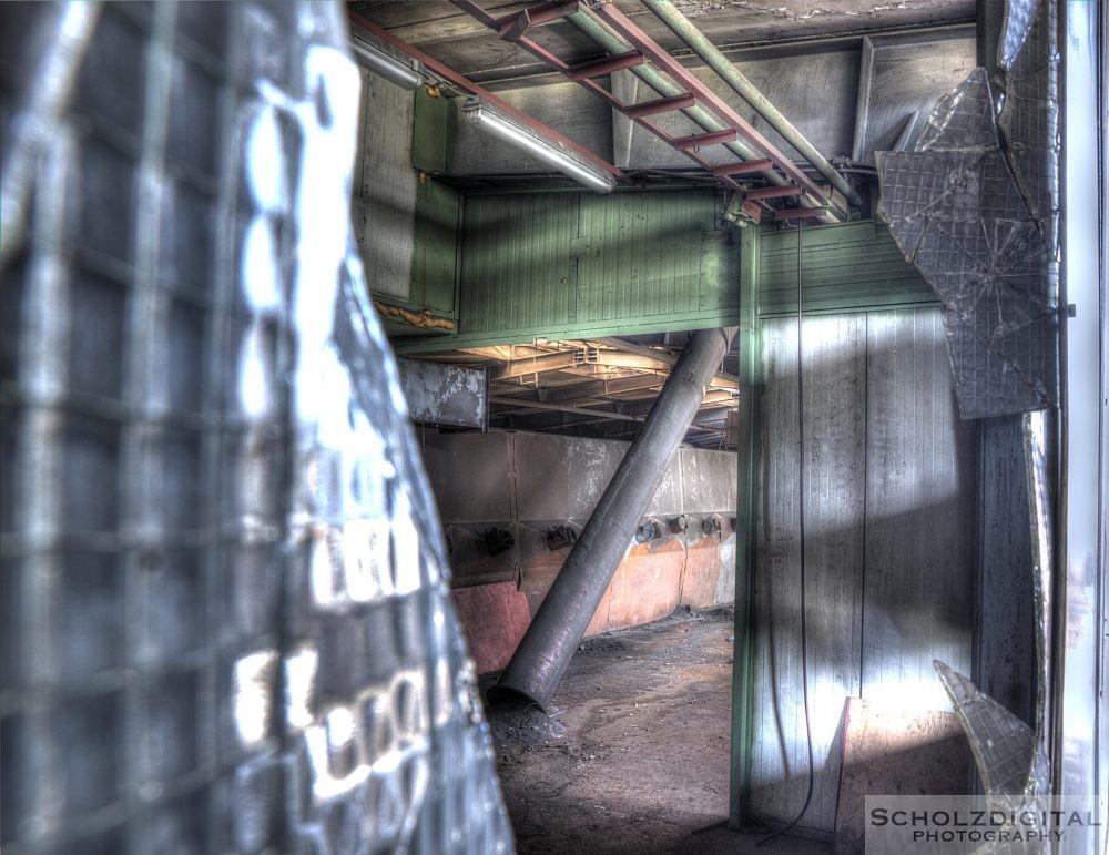 Alte Industrieanlage
