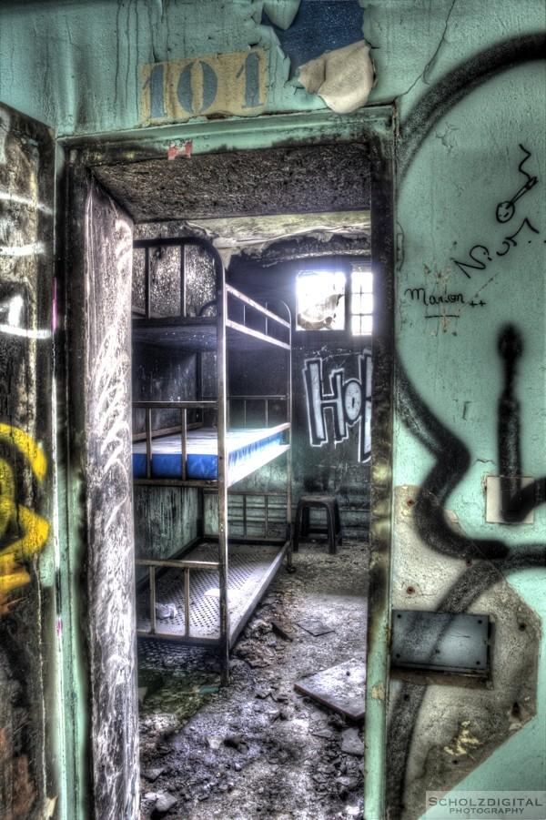 3 Bett Zelle Gefängnis