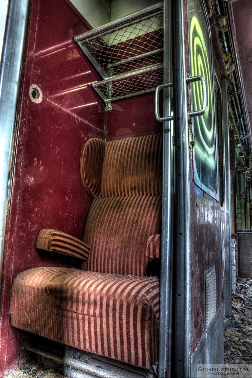 Lost Place - verlassener Speisewagen
