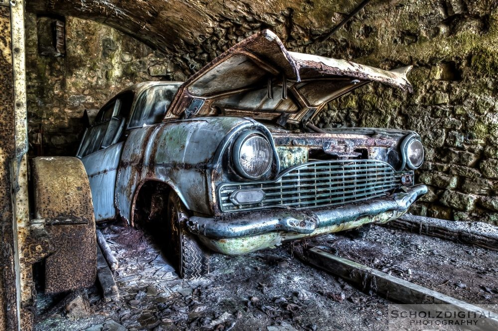 Lost Place - Oldtimer