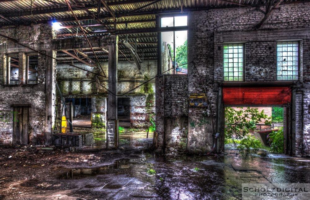 Industrieruine im Ruhrgebiet