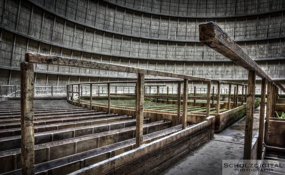 Lost Place - ein verlassener Kühlturm