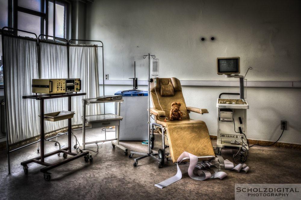 Verlassenes Krankenhaus Bayern