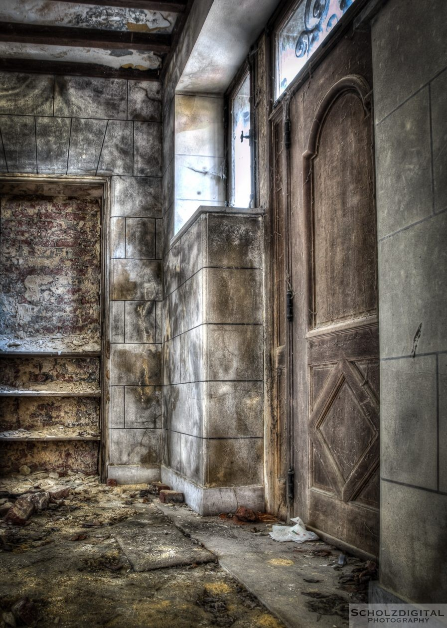 Verlassenes Chateau in Belgien