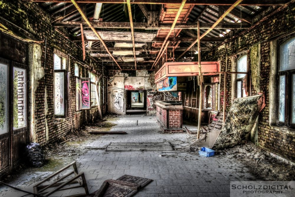Verlassener Kaserne