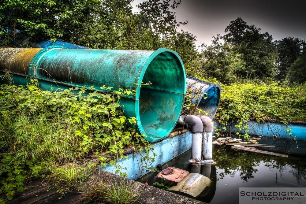 Verlassener Wasserpark - ein Lost Place in belgien
