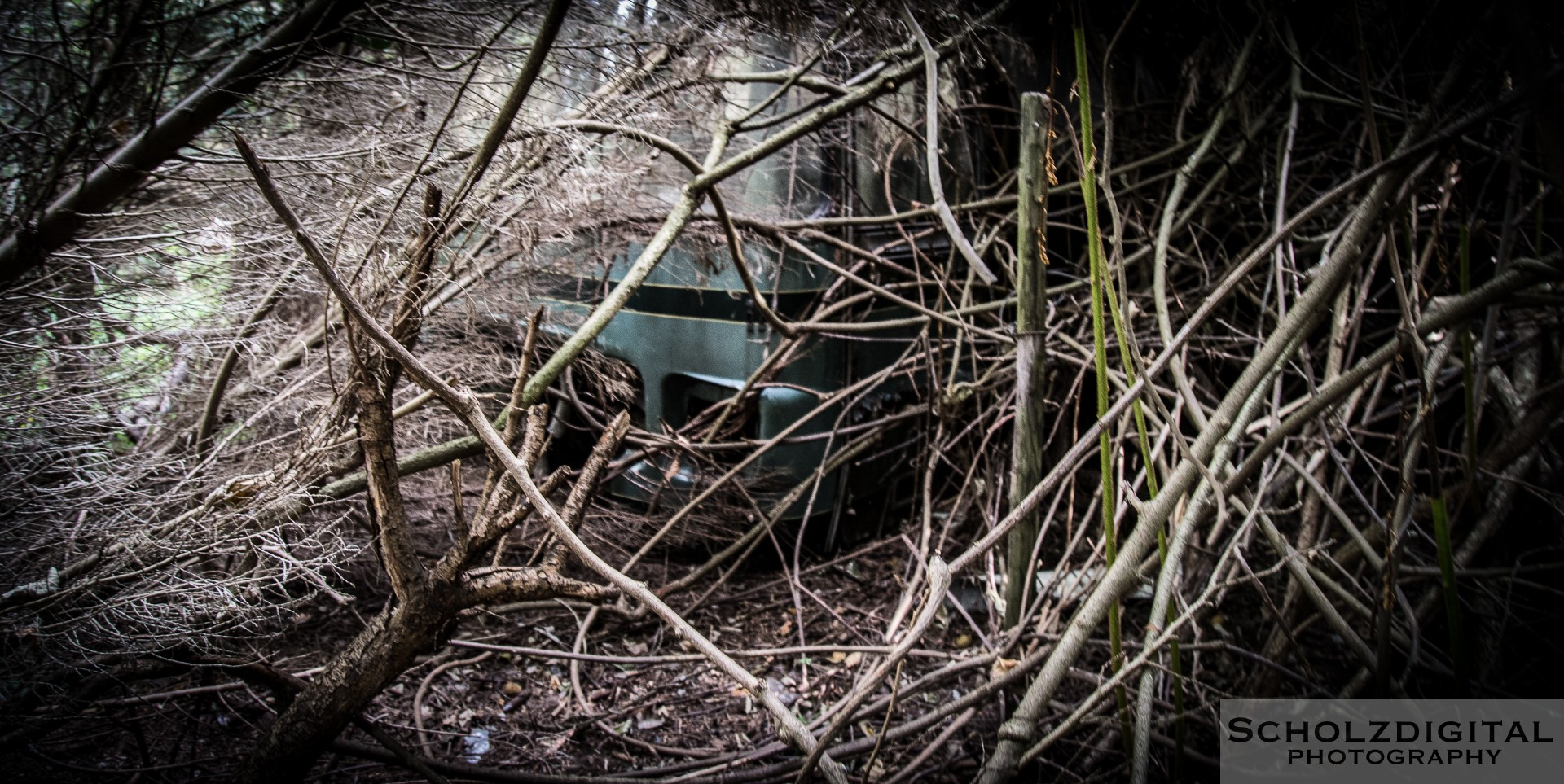 Lost in the woods URBES Lost Place