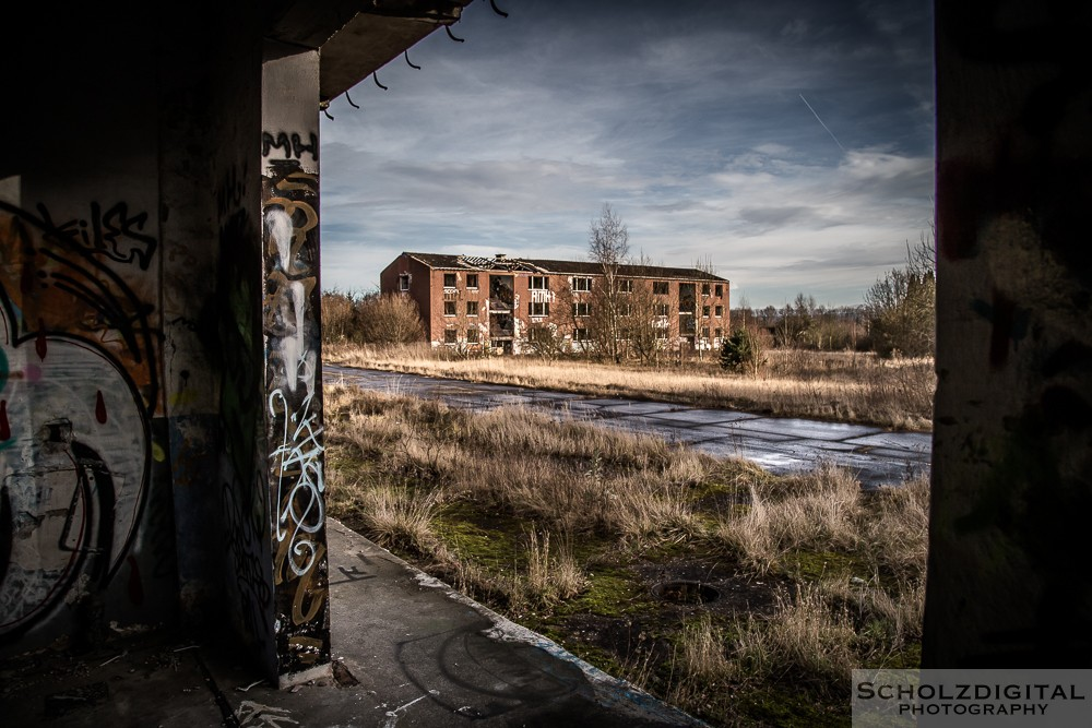 Camp - Lost Place - verlassene Orte - HDR