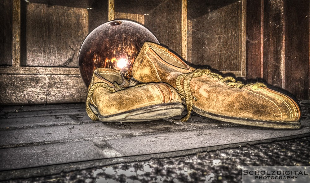 Bowl of Glory bowling Urbex Lost Place HDR