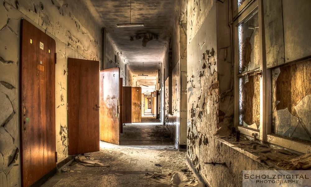 Sophien Heilstätte - Lost Place - HDR