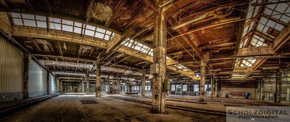 Atelier SNCB Lost Place Belgien Urbex