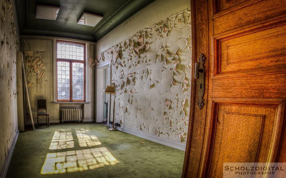 Town Mansion Urbex Belgien