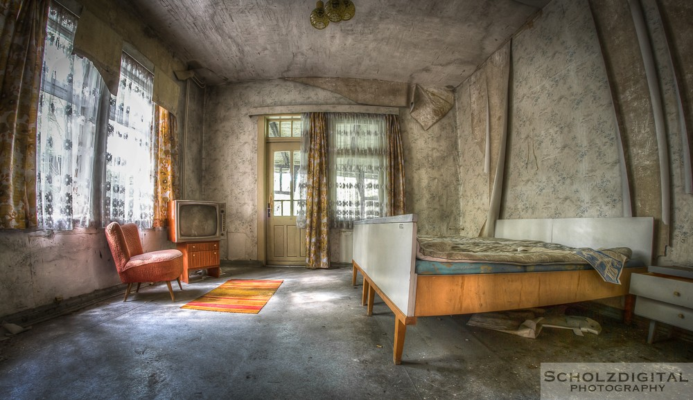 Highway Hotel verlassen Ostdeutschland Urbex