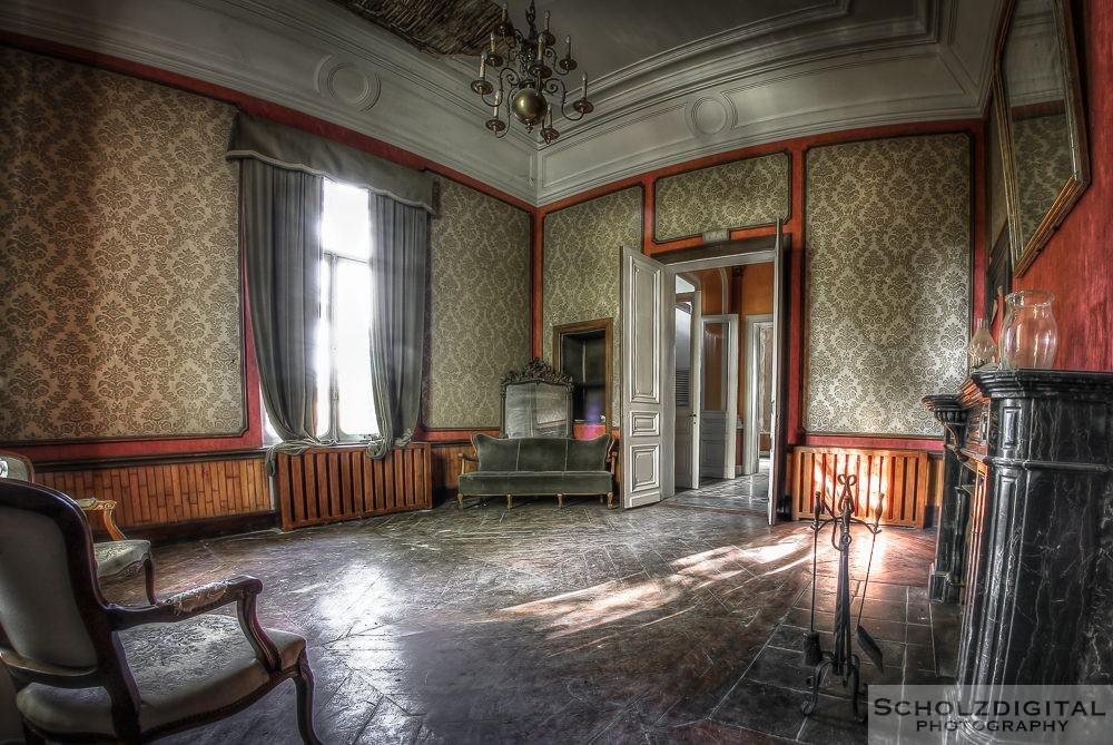 Domain M - Domaine de la Feuille Urbex Lost Place Belgium