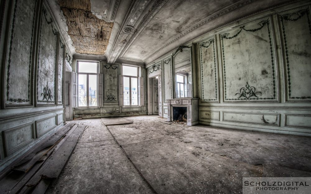 Bank Job - Hogwarts - urban - lost Place - verlassen - urbex Belgien