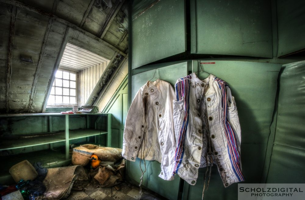 Shutter Island Urbex Lost Place Abandoned Psychiatrie Belgien verlassen