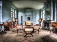 Urbex Lost Place Frankreich Blue Castle Chateau des livres fotorunner abandoned