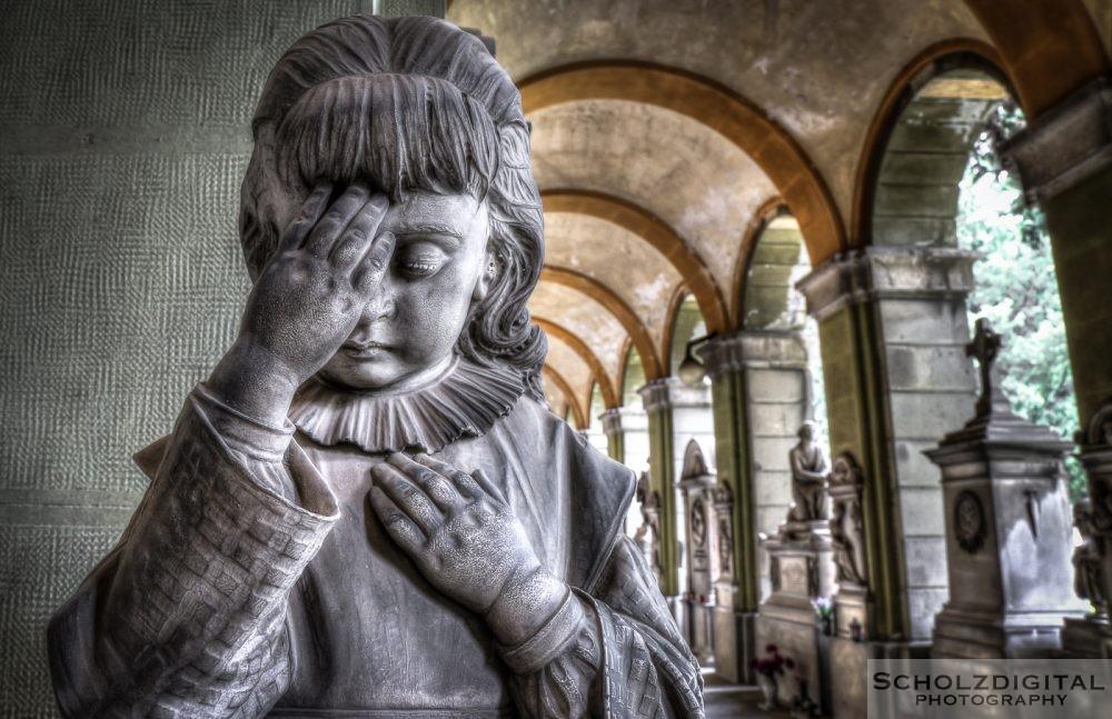 Monumentalfriedhof Staglieno, Cimitero monumentale di Staglieno, Genua, Italy, Urbex, Photography