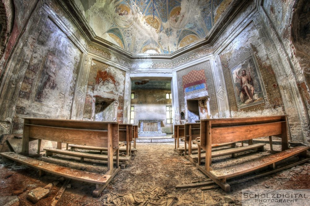 Villa Grazia urbex Italy lost Place verlassen