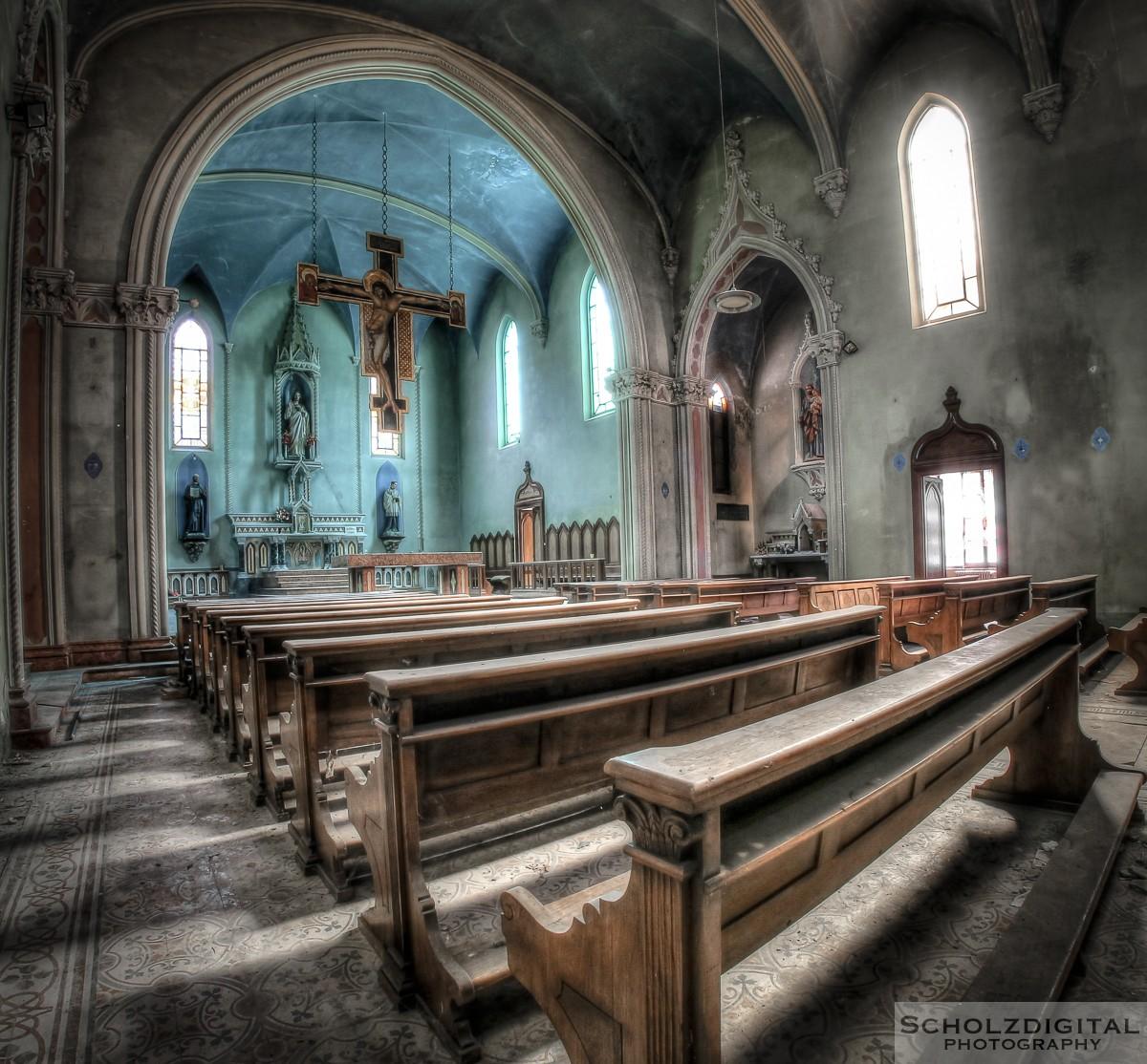 Blue Chapel Urbex Italy Italien Lost Place verlassene Orte Fotos URBEX